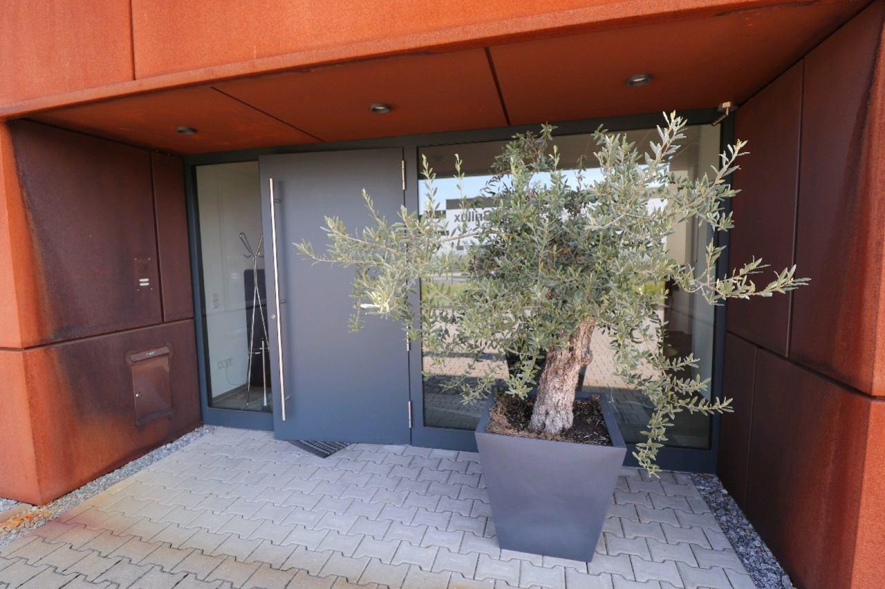 Eingang Büroeinheit